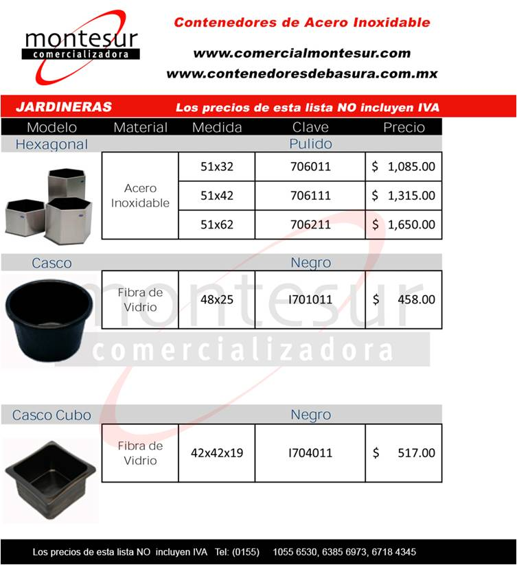 inoxidable catalogo: